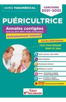 Concours puericultrice - annales corrigees - sujets 2020 - entrainement intensif - ifpde - 2021-2022