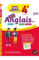 Anglais 4e - lv1 (a2, a2+) - cahier d-entra inement et de revision