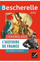 Bescherelle chronologie de l-histoire de france - des origines a nos jours