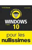 Windows 10 pour les nullissimes 3e edition