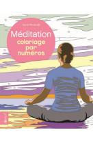 Coloriage par numeros - meditation