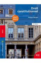 Fondamentaux  - droit constitutionnel 2021-2022