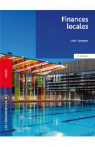 Fondamentaux  -  finances locales (3e edition)