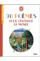 30 poemes pour celebrer le monde - boussole cycle 3