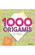 1000 origamis so happy