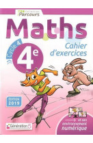 Cahier d-exercices iparcours maths 4e (2019)