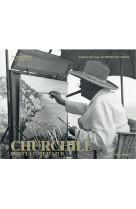 Churchill peint la cote d-azur