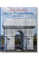 Christo and jeanne-claude. l-arc de triomphe, wrapped
