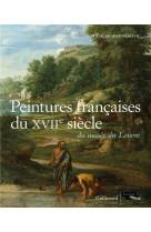 Catalogue des peintures francaises du xvii  siecle du musee du louvre