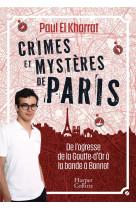 Crimes et mysteres de paris