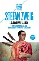 Adam lux - dix tableaux de la vie d-un revolutionnaire allemand