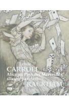Alice au pays des merveilles illustre par arthur rackham